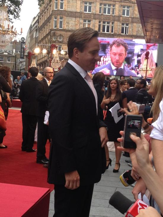 Matthew Macfadyen looking stunning at the Anna Karenina Premiere